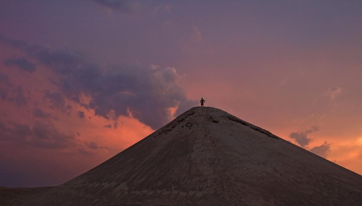 """фото """"Над миром..."""" метки: пейзаж, вечер, закат, лето, человек"""