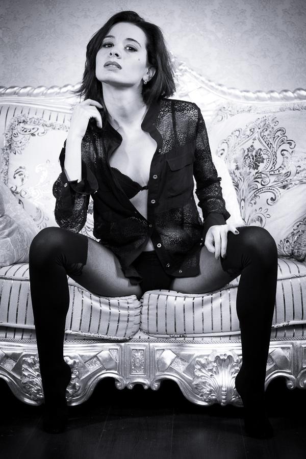 """фото """"Look at me"""" метки: гламур, черно-белые, портрет, женщина"""