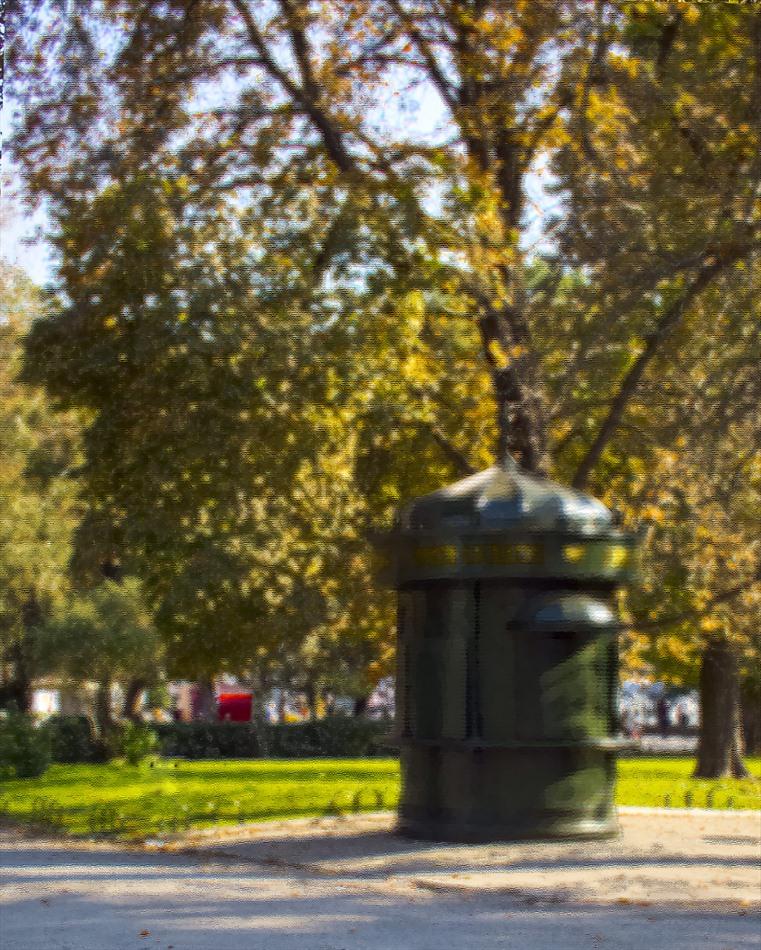"""фото """"Осений киоск"""" метки: город, разное, digital art, осень"""
