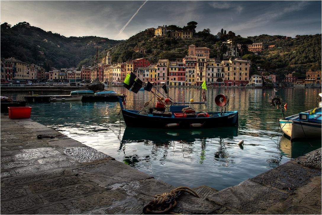 """фото """"Portofino, гавань"""" метки: пейзаж, путешествия,"""