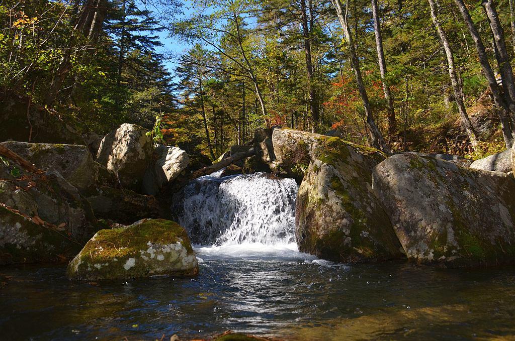 """фото """"Пейзаж с водопадом"""" метки: пейзаж,"""