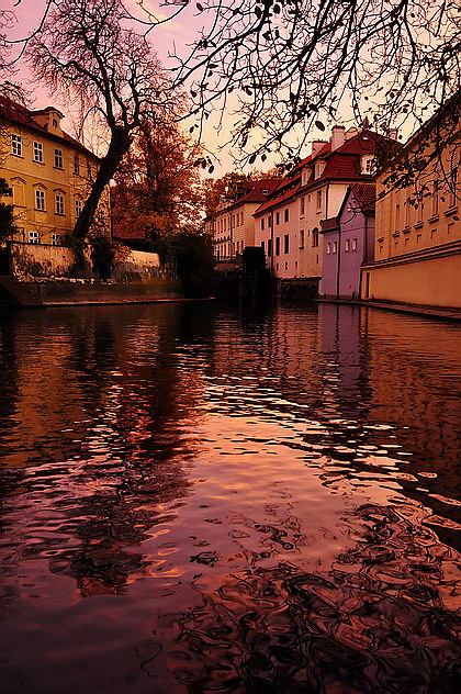"photo ""Вечерняя Чертовка"" tags: city, Prague"