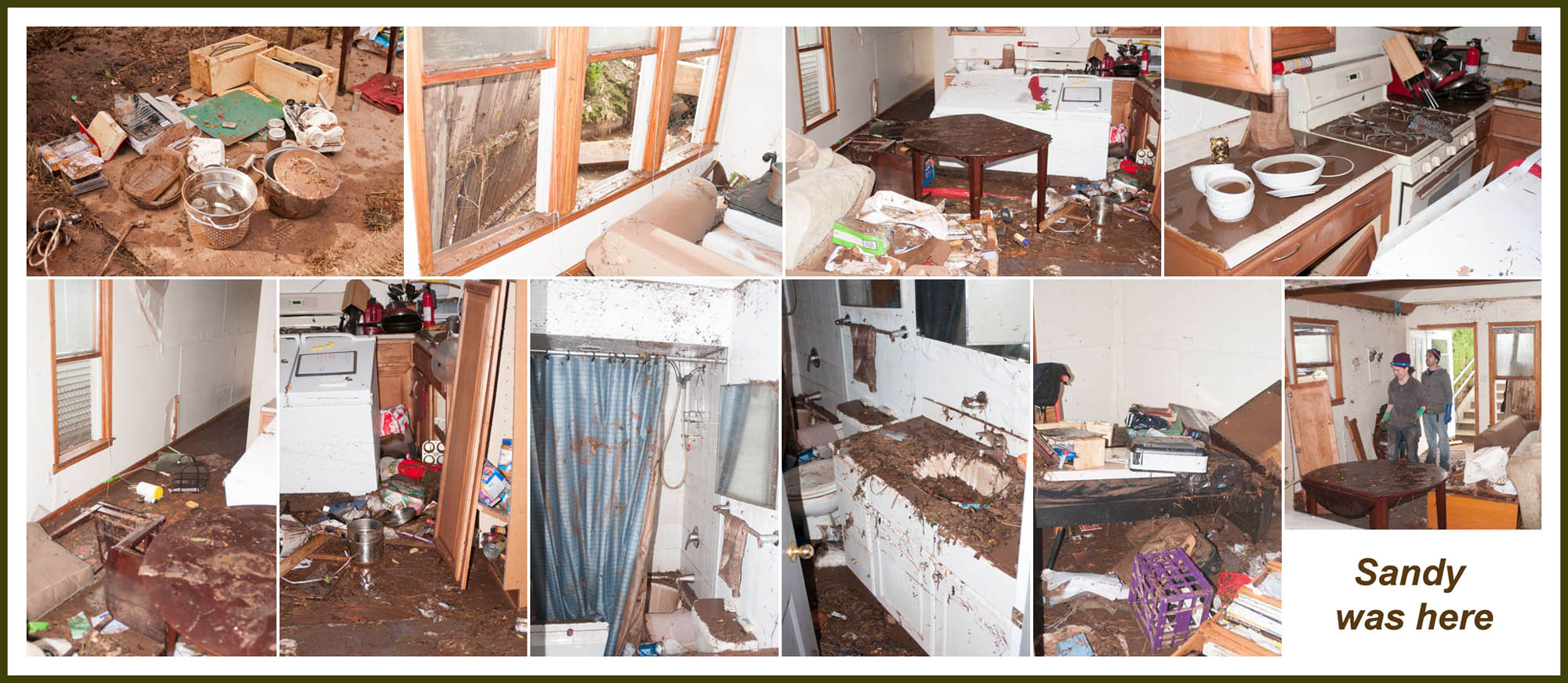 "photo ""Sandy was here - inside of one apartment"" tags: reporting, city, misc., Hurricane Sandy, New York City, cityscape"
