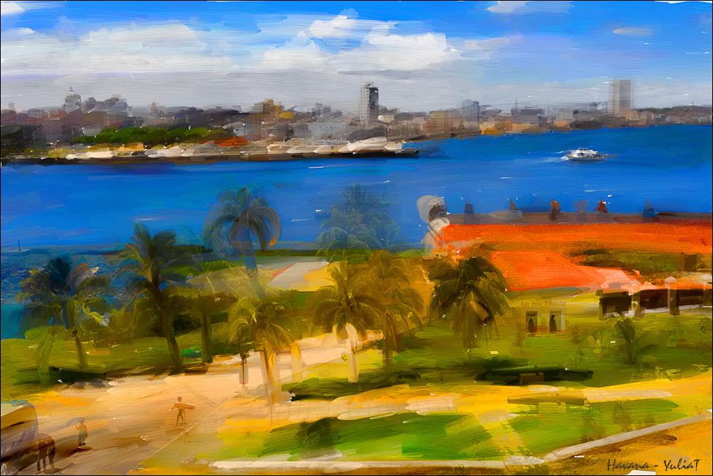 """фото """"Гавана"""" метки: digital art, пейзаж, путешествия,"""