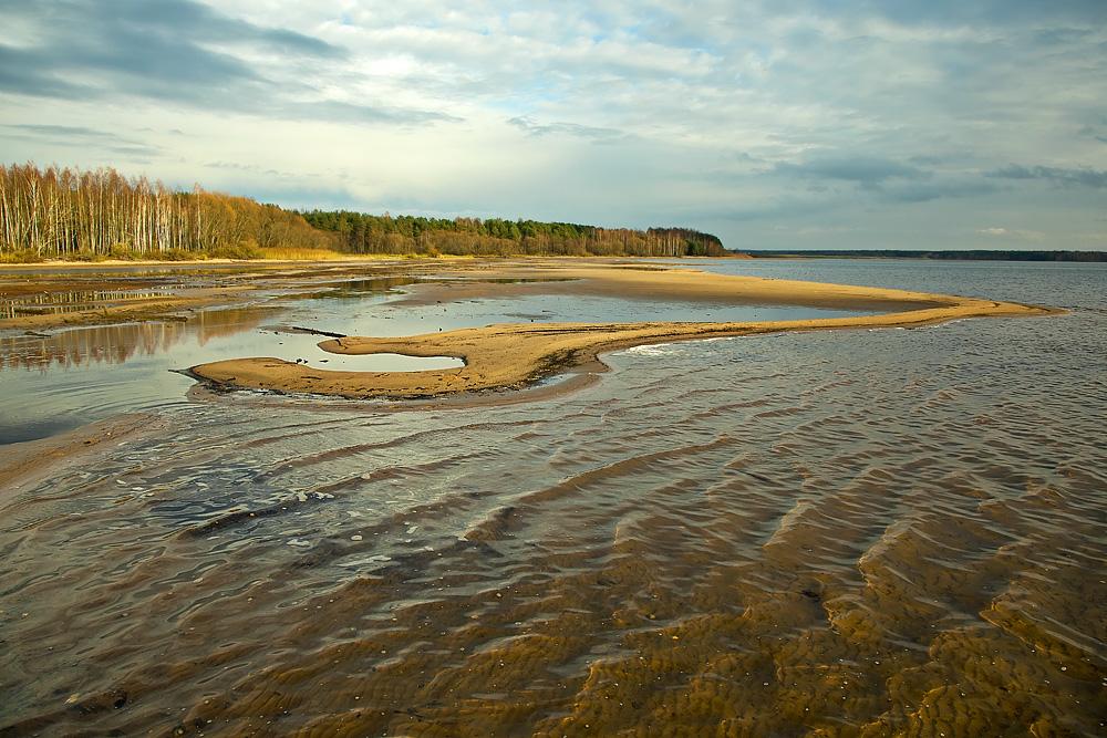 """фото """"***"""" метки: пейзаж, Беларусь, Вилейское водохранилище, осень"""
