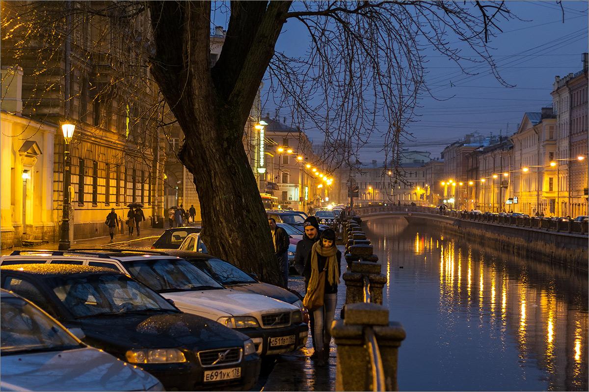 """photo """"***"""" tags: city, St. Petersburg, autumn, rain"""