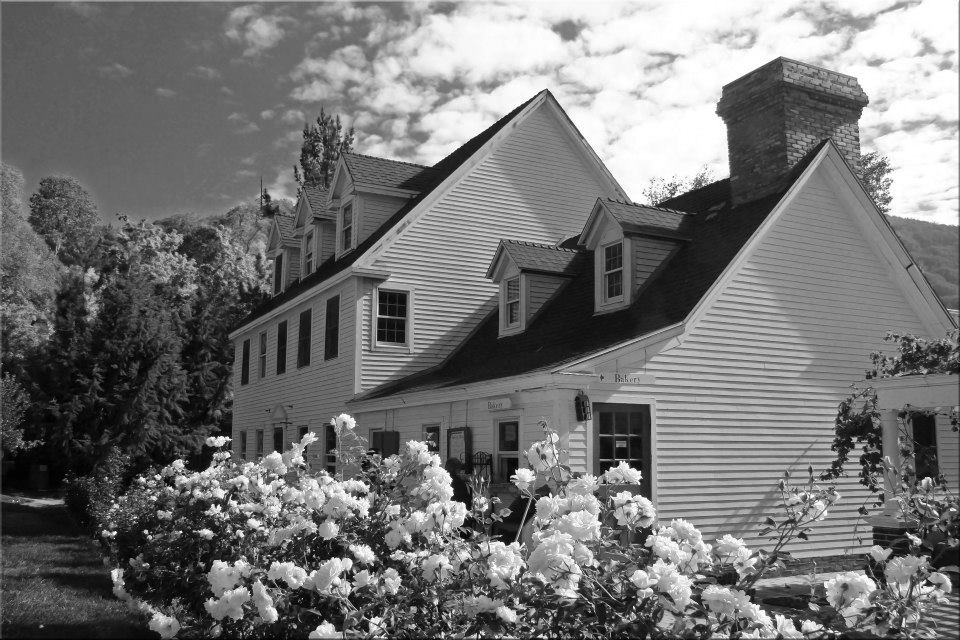 "фото ""Gables"" метки: архитектура, пейзаж, черно-белые,"