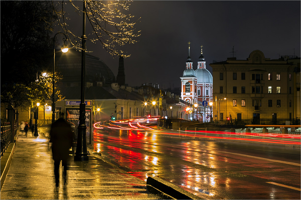 "photo ""***"" tags: city, St. Petersburg, autumn, rain"