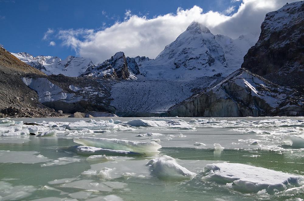 "фото ""Ледопад и льдинки"" метки: пейзаж,"