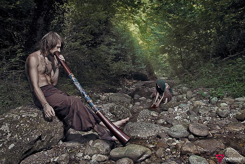 """фото """"TRIBE"""" метки: портрет, жанр, природа, Абхазия"""