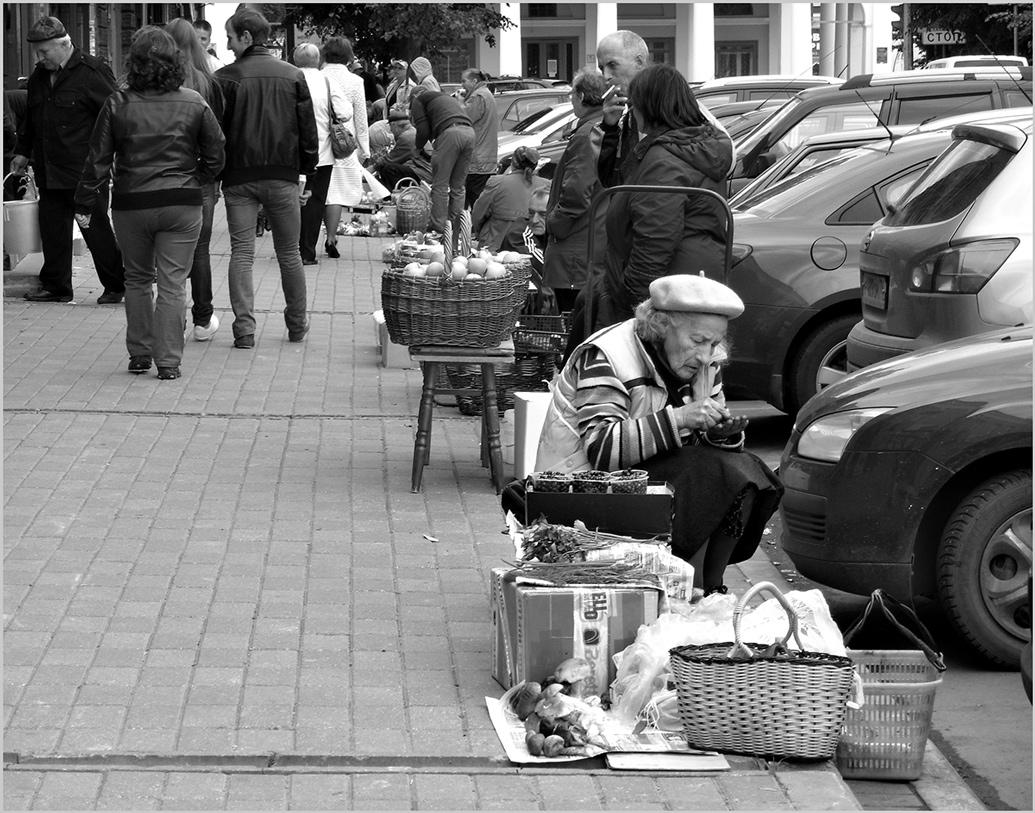 """фото """"Заработать рублик..."""" метки: стрит-фото, черно-белые,"""