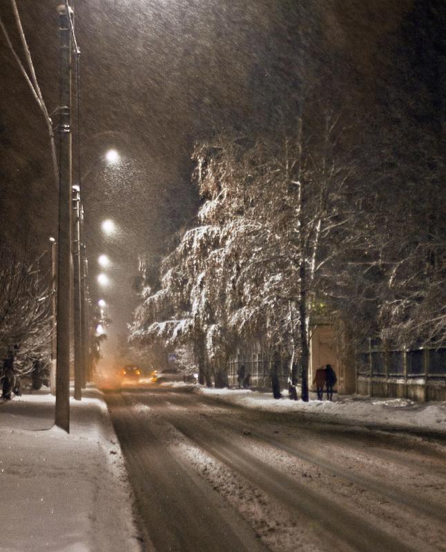 """фото """"Вечерний променад"""" метки: город,"""
