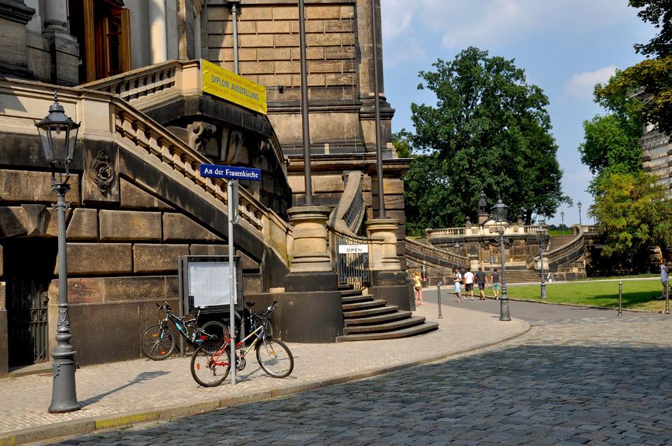 """фото """"An der Frauenkirche"""" метки: город, Дрезден, Европа, лето"""