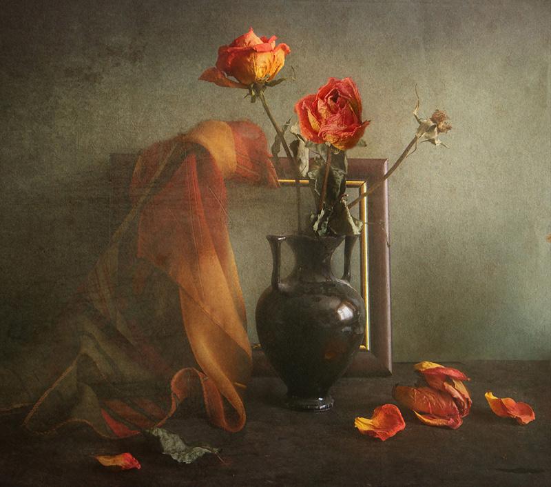 """фото """"Три розы"""" метки: натюрморт,"""