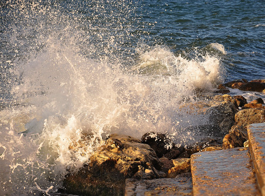 "фото ""Штормило слегка"" метки: фрагмент, морская волна"