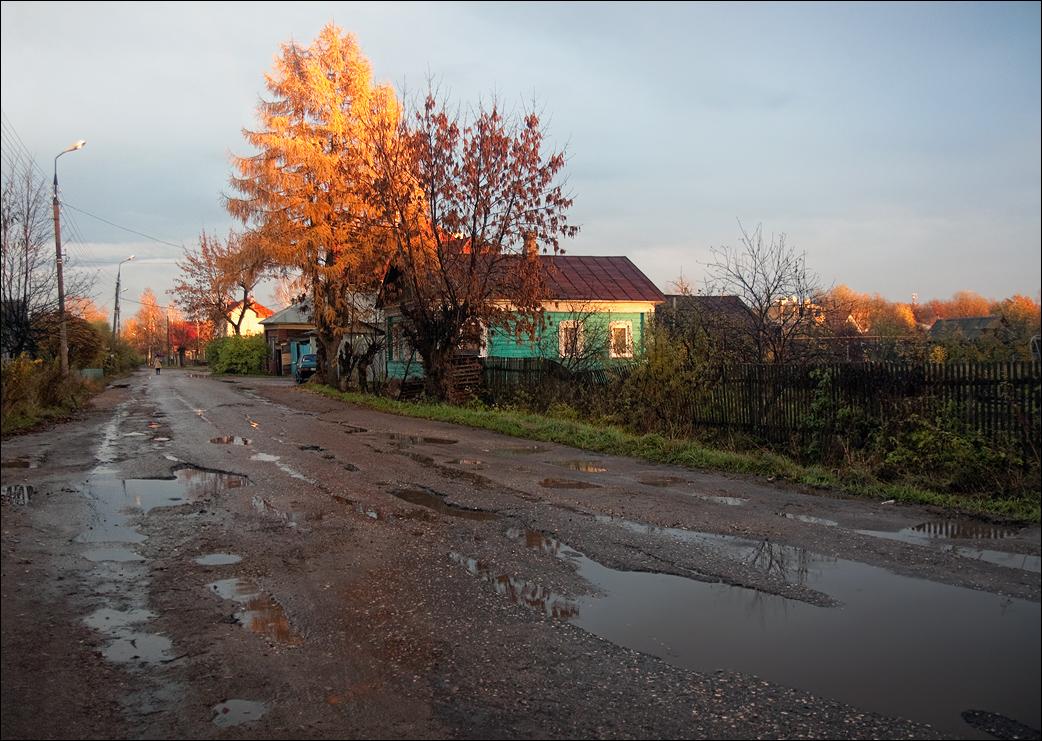 """фото """"Вечер после дождя"""" метки: пейзаж, Ростов, осень"""