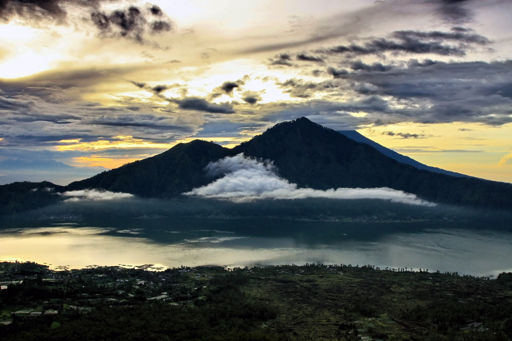 "фото ""Зорька по балийски"" метки: пейзаж, путешествия,"