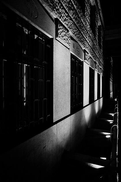 "фото ""Ночная атмосфера-18"" метки: черно-белые,"