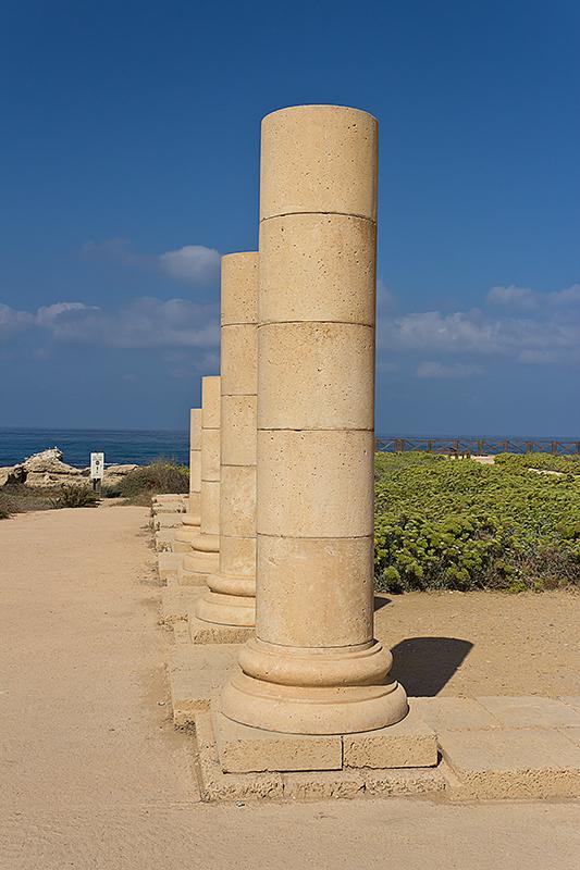 """фото """"***"""" метки: архитектура, путешествия, пейзаж, Израиль, Кесария, Средиземное море, сентябрь"""