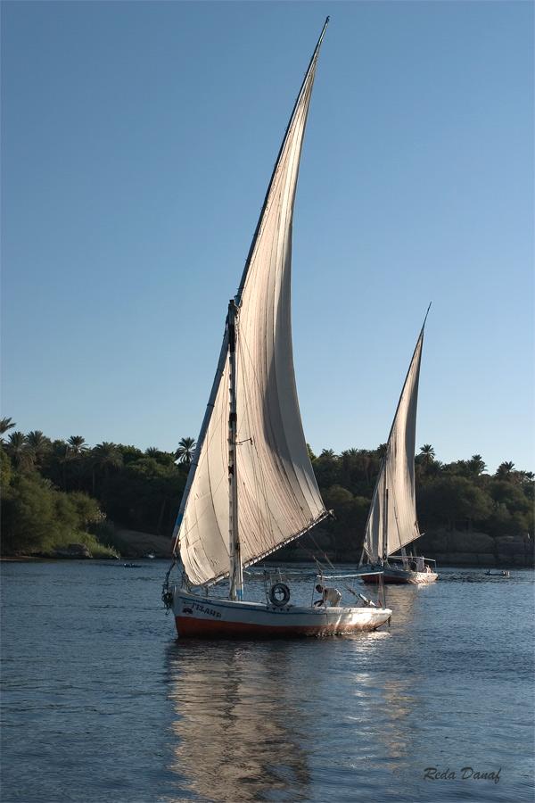 "фото ""Sailing on the Nile"" метки: путешествия, пейзаж, Африка, вода, река"
