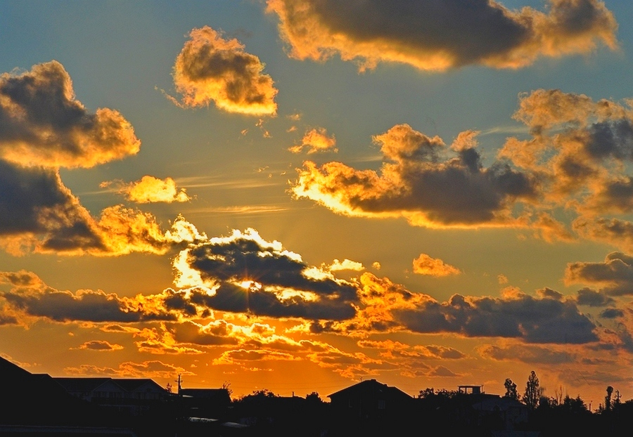 "photo ""***"" tags: landscape, clouds, sky, sunset"
