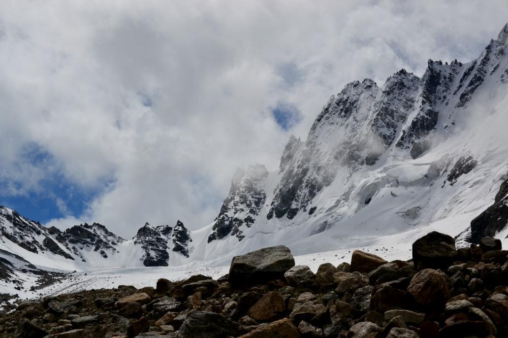 """фото """"Горный перевал"""" метки: пейзаж, путешествия, Кавказ, горы, перевал"""