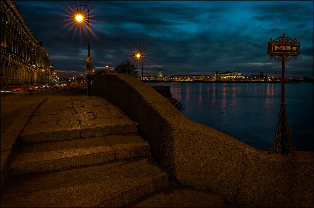 "photo ""Hermitage Bridge"" tags: architecture, city, landscape,"