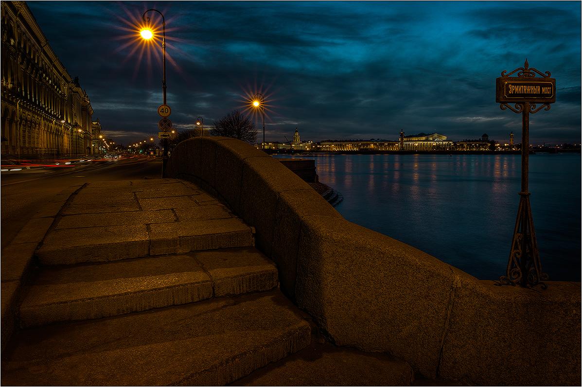 """фото """"Эрмитажный мост"""" метки: архитектура, город, пейзаж,"""