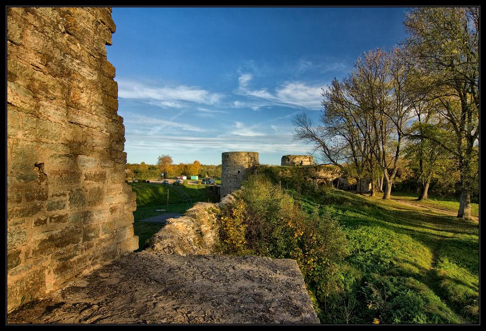"фото ""Крепость Копорье"" метки: пейзаж, архитектура,"