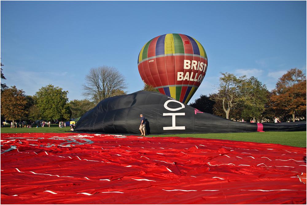 """фото """"Этапы рождения шара."""" метки: репортаж, воздушные шары"""