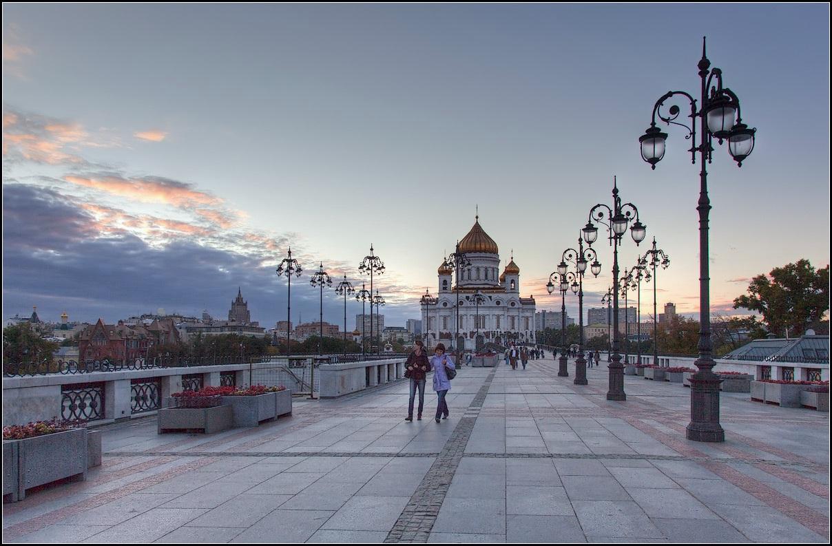 """фото """"московский вечер"""" метки: город, архитектура, стрит-фото,"""