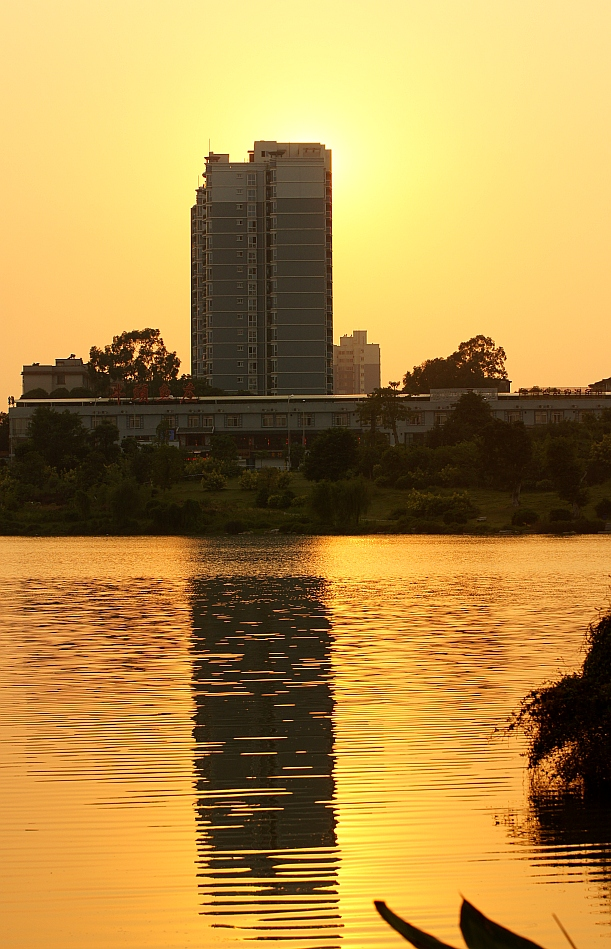 "photo ""SUNSETS"" tags: city, still life, landscape, sunset"