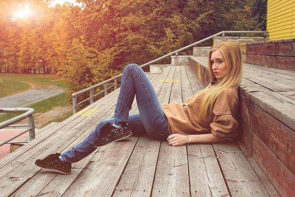 """фото """"Осенняя"""" метки: портрет,"""