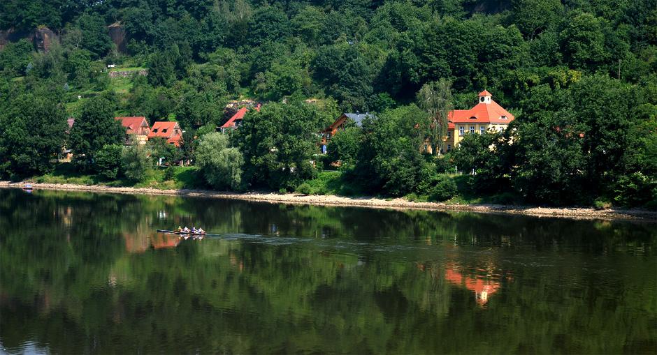 """фото """"саксонский городок"""" метки: пейзаж, Европа, вода, лето"""