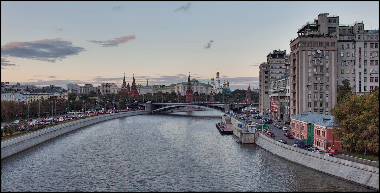 "photo ""Moscow. autumn"" tags: city, architecture, panoramic,"