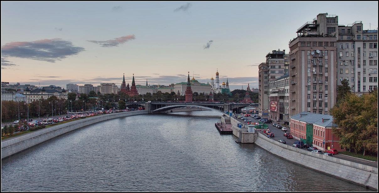 "фото ""Москва. Осень"" метки: город, архитектура, панорама,"