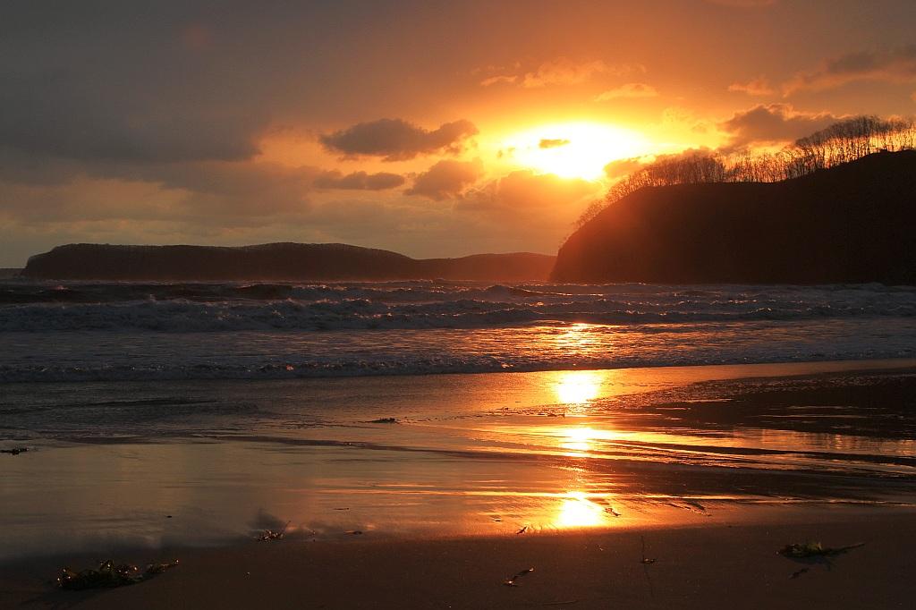 "фото ""Закат после шторма"" метки: пейзаж,"