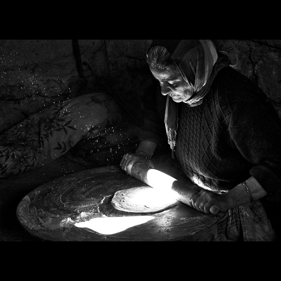 "photo ""Everyday Bread..."" tags: reporting, portrait, black&white, rezon Armenia"