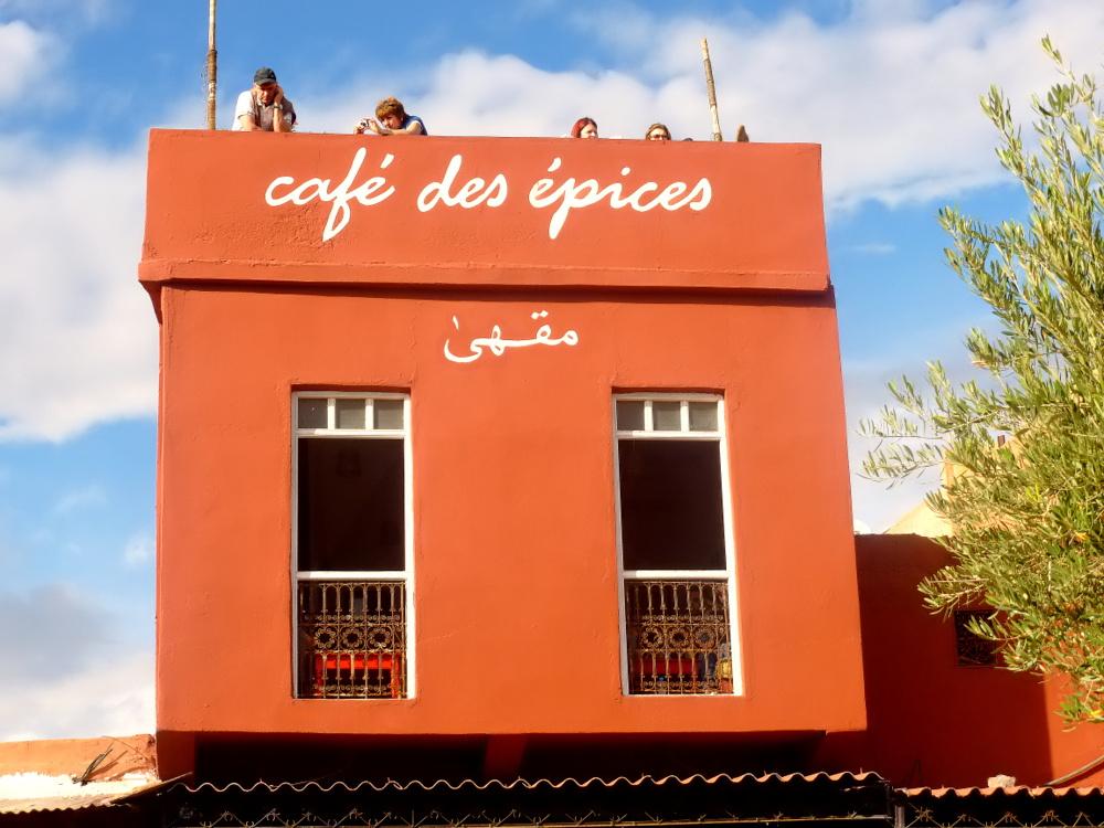 "фото """"Café des épices"""" метки: архитектура,"