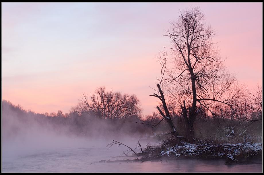 """фото """"Туманный рассвет"""" метки: пейзаж,"""