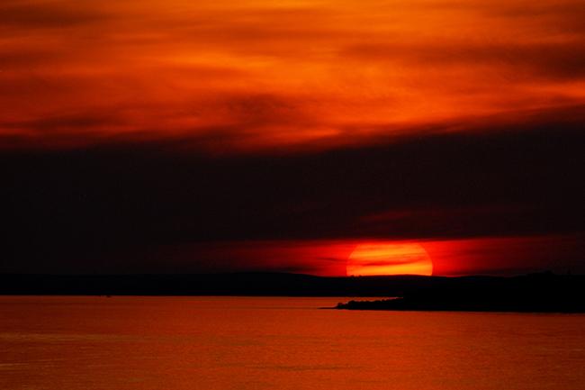"фото ""Mediterranean sunset"" метки: пейзаж,"