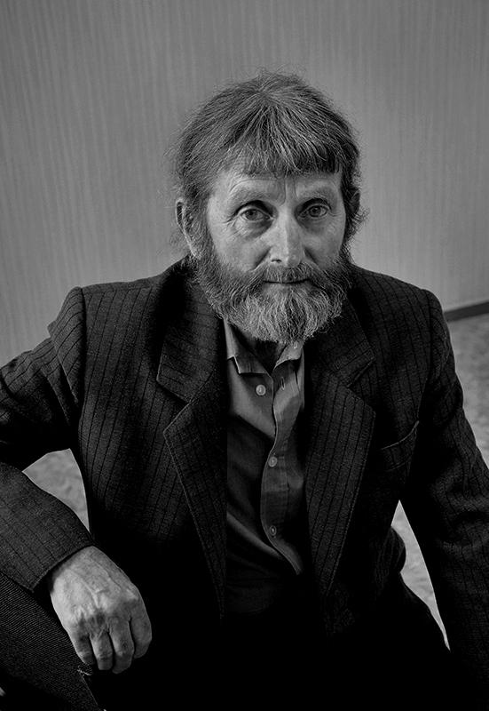 """фото """"М.Бенцель, художник. 2010г."""" метки: портрет,"""