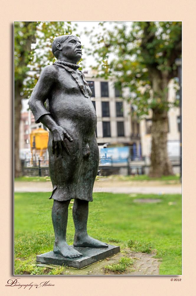 "фото ""The ""stropdrager"""" метки: архитектура, путешествия, Belgium, belgie, gent, ghent, noos carrier, stropdrager"