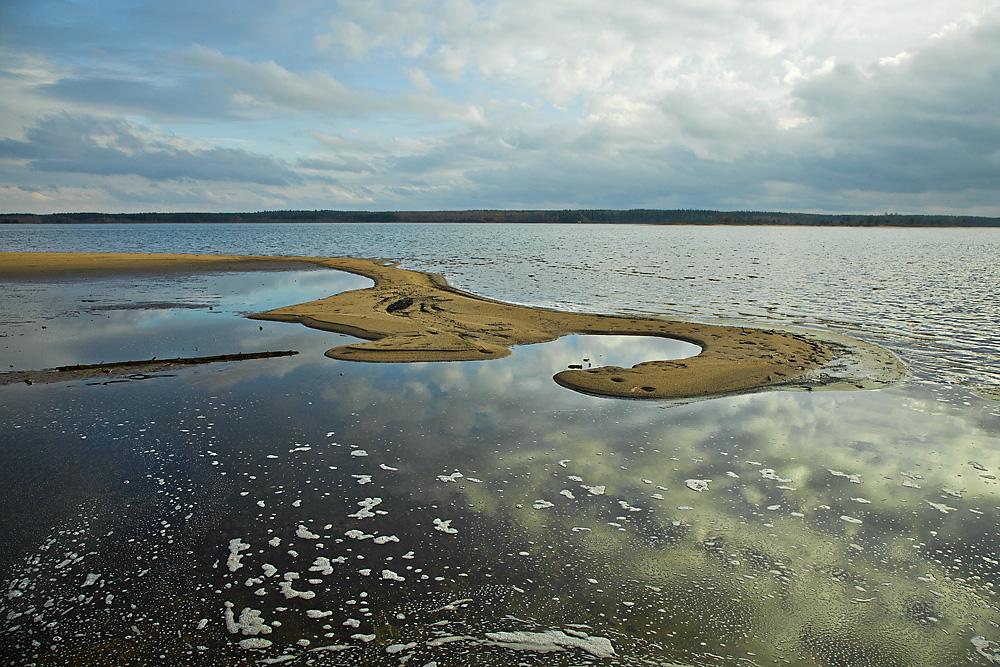 "photo ""***"" tags: landscape, autumn, water, Беларусь, Вилейское водохранилище"