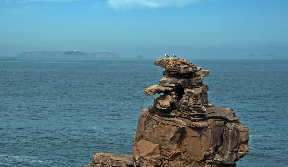 "photo ""Cape Carvoeiro"" tags: landscape, panoramic, Carvoeiro, Europe, Peniche, Portugal, birds, cape, coast, islots., water"