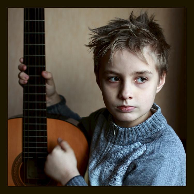 """фото """"Непарадный портрет одного гитариста."""" метки: портрет,"""