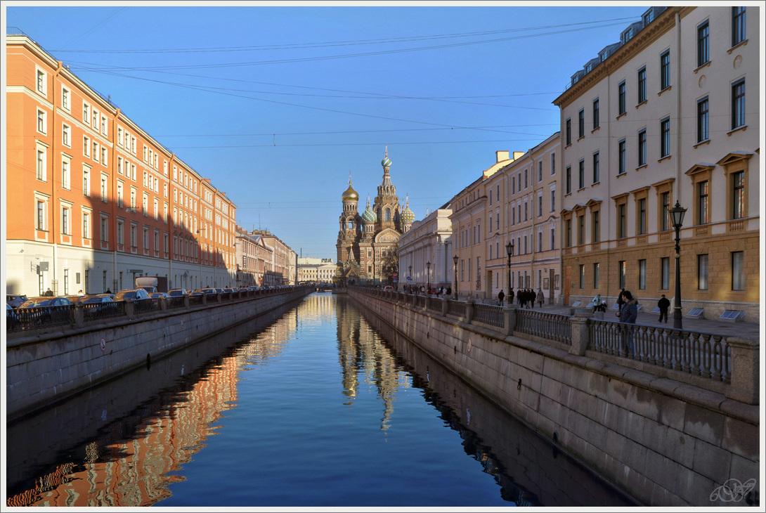 "фото ""Канал Грибоедова."" метки: пейзаж, С-Пб"