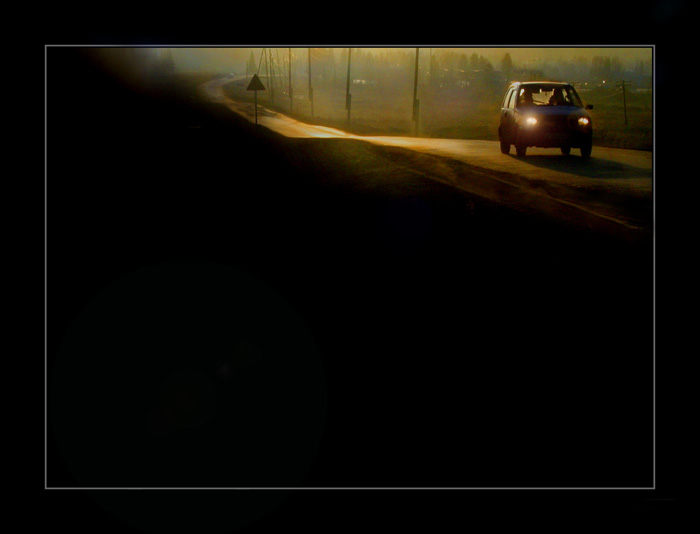 "фото ""дорога к дому"" метки: техника,"