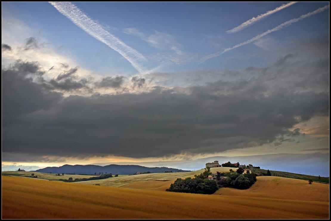 """фото """"Hills of Umbria"""" метки: пейзаж,"""