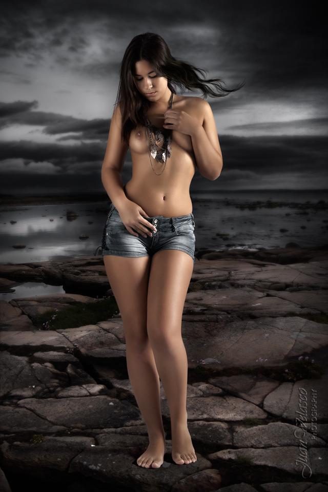 "фото ""Venus?"" метки: портрет, ню, hair, velasco, venus, море"